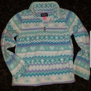 Girls fleece pullover